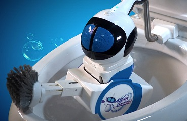 Don't giggle over toilet-cleaning robot Giddel